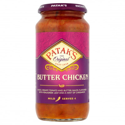 Butter Chicken Spicy, Patak`s, 450 G