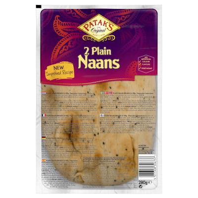 Naan Bread, Patak`s, 2 bucati, 255G