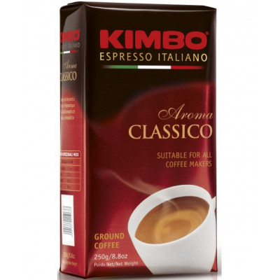 Cafea macinata Aroma Classico, Kimbo, 250g
