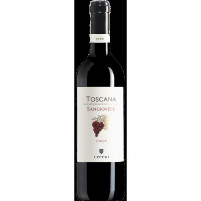 Vin rosu Toscana Sangiovese IGT, Cecchi, 0,75L