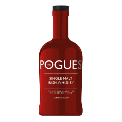 Whisky Irlandez Single Malt, Pogues, 40% alc., 0,7L