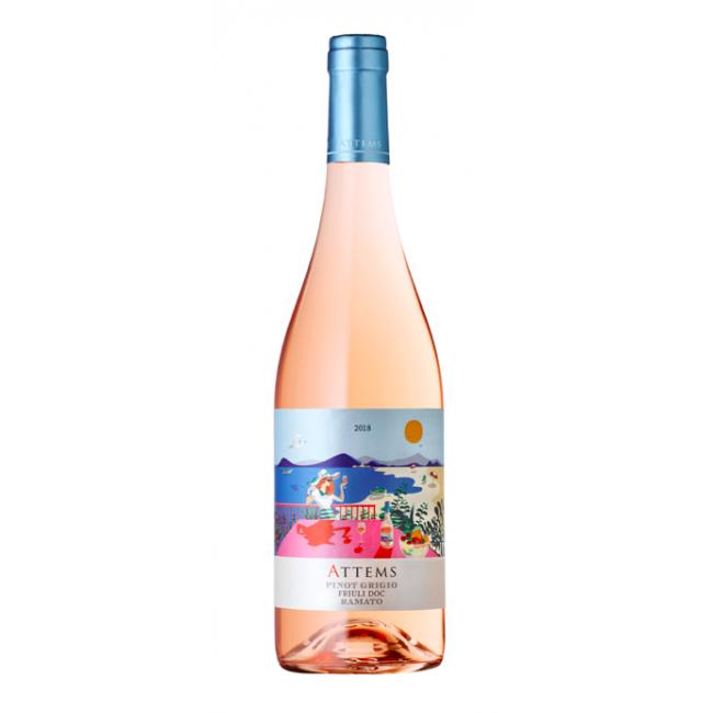 Vin rose Pinot Grigio Friuli Ramato DOC, Frescobaldi Attems, 0,75L