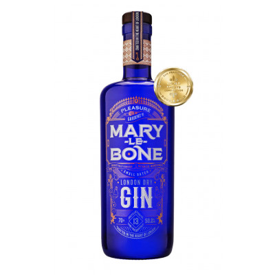 Gin London Dry, Marylebone, 50,2% alc., 0,7L