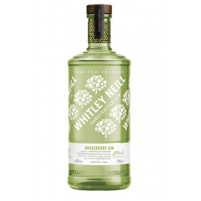 Gin cu Gooseberry, Whitley Neill, 43% alc., 0,7L
