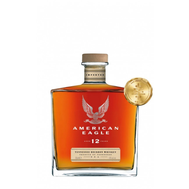 Bourbon Whiskey 12 years, American Eagle, 43% Alc, 0,7L