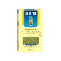 Lasagna cu Ou si Spanac, De Cecco, 500g