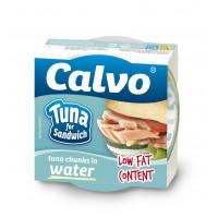 Ton pentru sandvis in sos natur, Calvo, 142g