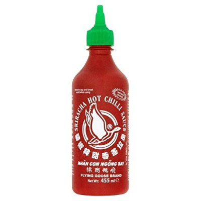 Sos Sriracha Hot Chilli, Flying Goose, 455 ml