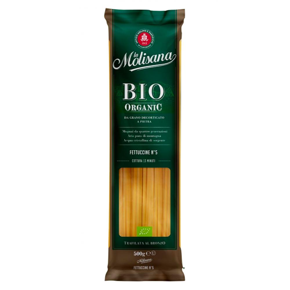 Paste Fettuccine BIO Organice, La Molisana, 500g