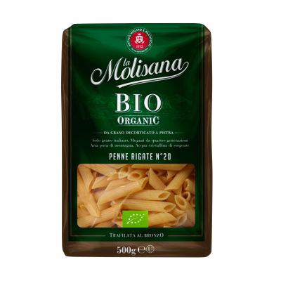 Penne Rigate BIO Organice, La Molisana, 500g