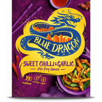 Sos Sweet Chill & Garlic la plic - Stir Fry, Blue Dragon, 120g