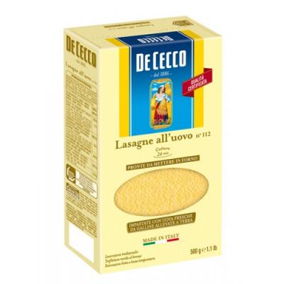 Lasagna cu Ou Timballo, De Cecco, 500g