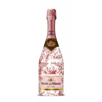 Vin Spumant Roze Brut, Veuve de Vernay, Editie Limitata 0,75L