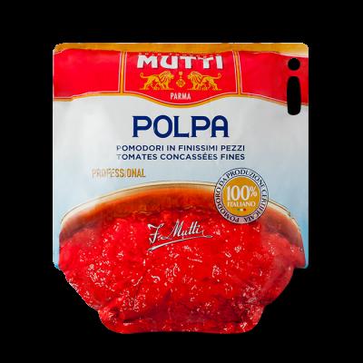 Rosii taiate fin - Polpa, Mutti, 5 Kg