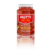 Sos de rosii cu legume gratinate, Mutti, 400g