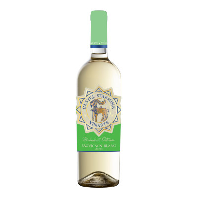 Vin Alb Castel Starmina Sauvignon Blanc, Vinarte, 0,75L
