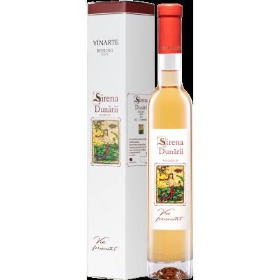 Vin Alb Sirena Dunarii Riesling, Vinarte, 0,375L