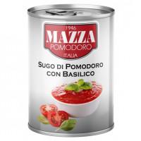 Sos de rosii cu busuioc, Mazza, 400g