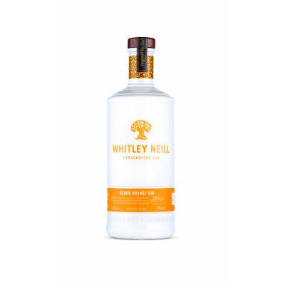 Gin cu Portocala Rosie de Sicilia, Whitley Neill, 0,7L