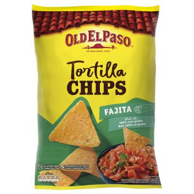 Tortilla Chips Fajita, Old El Paso, 185g