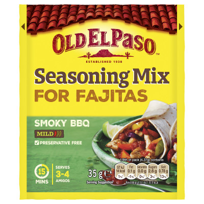Mix condimente Fajita, Old El Paso, 30G