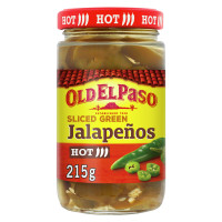 Ardei Jalapeno Feliati, Old El Paso, 215G