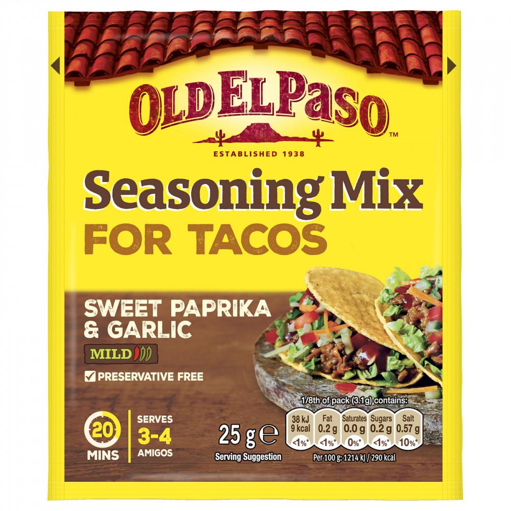 Mix Condimente Taco, Old El Paso, 25g