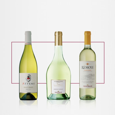 Pachet All White vin Frescobaldi