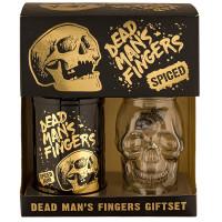 Pachet Rom Condimentat, Dead Man's Fingers, 0,7L + Pahar