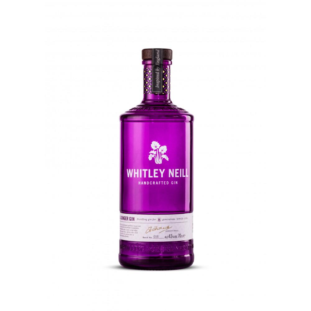 Gin cu Rubarba si Ghimbir, Whitley Neill, 0,7L