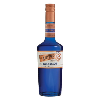 Lichior Blue Curacao, De Kuyper, 24% alc., 0,7L