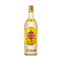 Rom 3 years, Havana Club, 40% alc., 1L