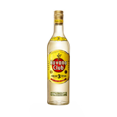 Rom 3 years, Havana Club, 40% alc., 0,7L