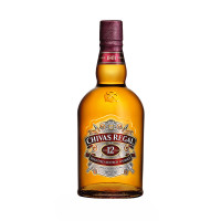 Whisky 12 years, Chivas Regal, 40% alc., 0,7L