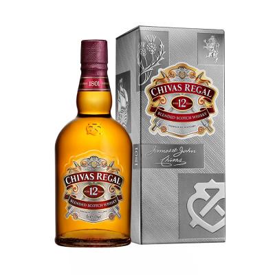 Whisky 12 years Cutie, Chivas Regal, 40% alc., 0,5L
