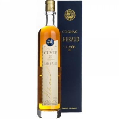 Cognac Cuvee 20, Lheraud, 43% alc., 0,7L