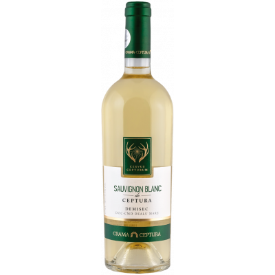 Vin Sauvignon Blanc Demisec, Cervus Cepturum, 0.75L