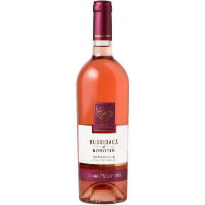 Vin Busuioaca Rose Demisec, Cervus Cepturum, 0.75L