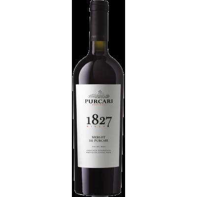 Vin Merlot Sec, Purcari 1827, 0.75L
