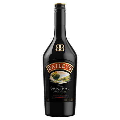 Crema de Whiskey, Bailey's, 17% alc, 1L