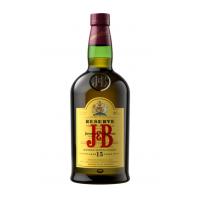 Whisky Premium 15 years, J&B Reserve, 40% alc, 0,7L