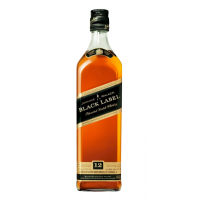Whisky 12 years, Johnnie Walker Black, 40% alc., 0,7L