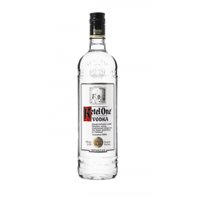 Vodka, Ketel One, 40% alc., 1L