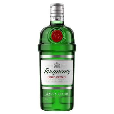 Dry Gin, Tanqueray, 43.1% alc., 0,7L