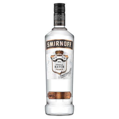 Vodka, Smirnoff Black, 40% alc, 1L