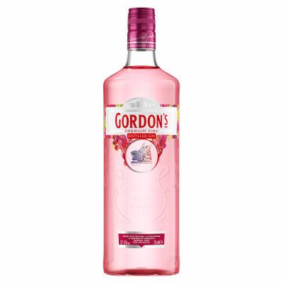 Gin London Dry, Gordon's Pink, 37.5% alc., 0,7L