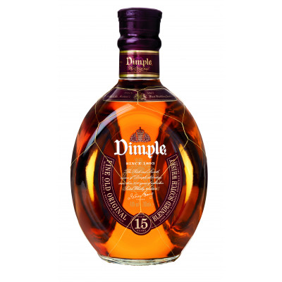 Deluxe Scotch Whisky 15 years, Dimple, 40% alc, 0,7L