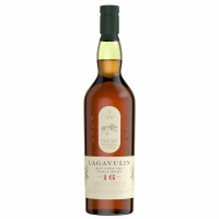 Whisky Single Malt 16 years, Lagavulin, 43% alc., 0,7L