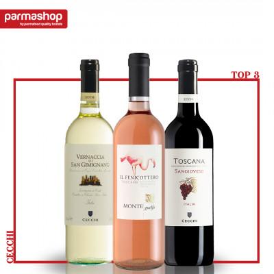 Pachet Top 3 Vinuri Cecchi
