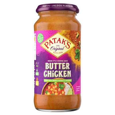 Sos indian Butter Chicken Spicy Patak`s 450g